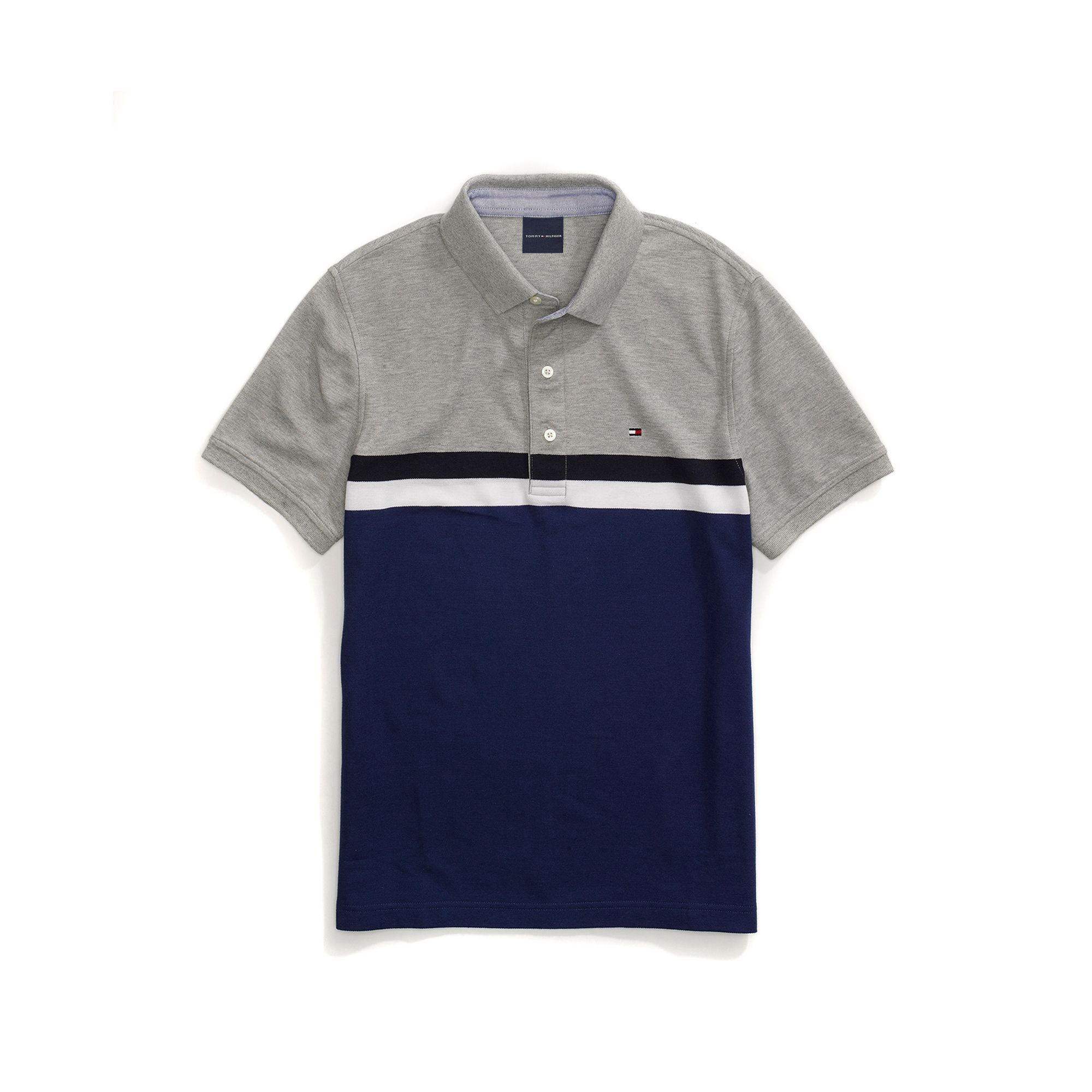fb60c77a0 TOMMY HILFIGER Custom Fit Colorblock Performance Polo. #tommyhilfiger #cloth  #