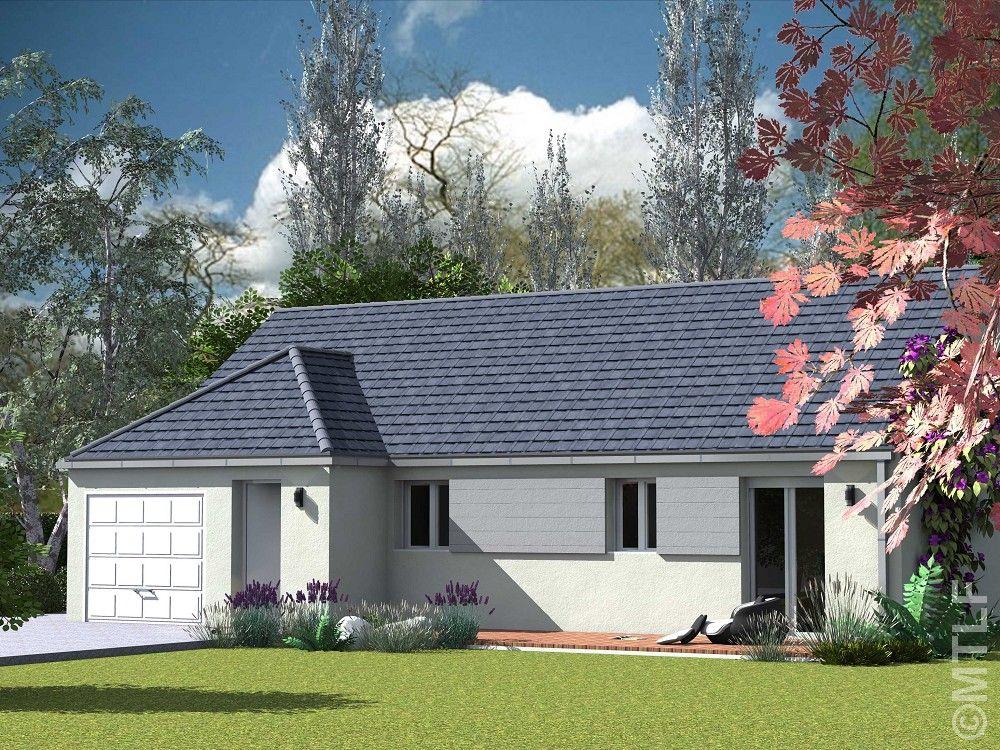 Modèle de maison JONQUIERE en RT2012  MTLF, constructeur maison
