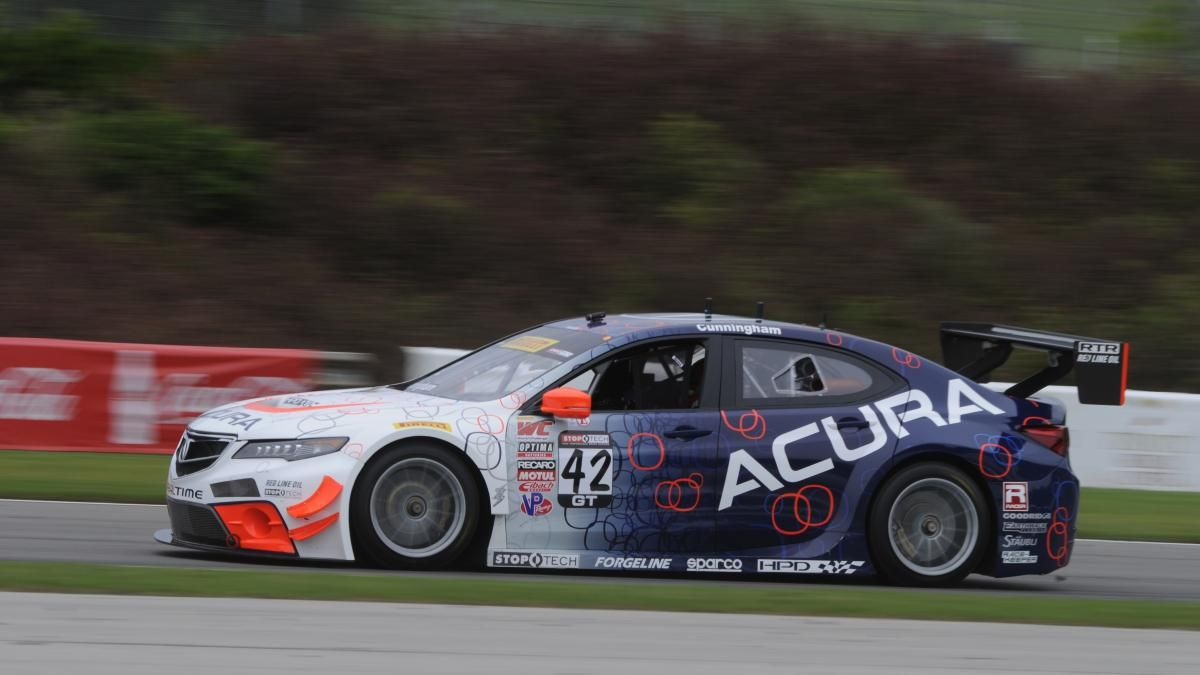 RealTime Acura TLX GT World Challenge car Photo 9