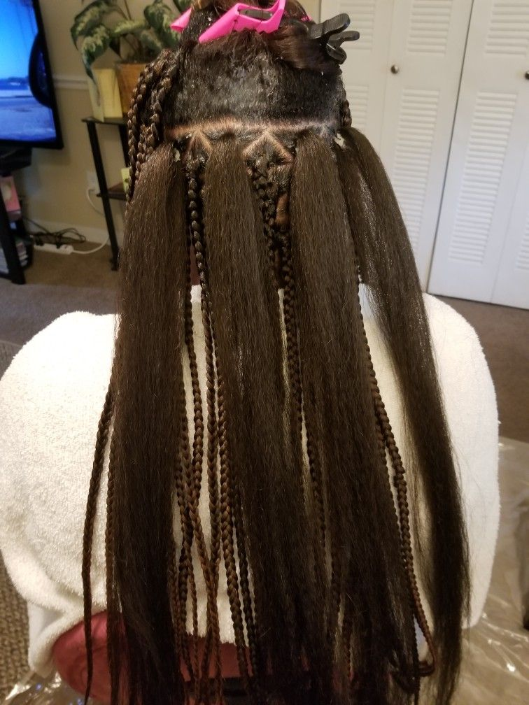 9 23 17 Finished Candace S Hair Individual Braids