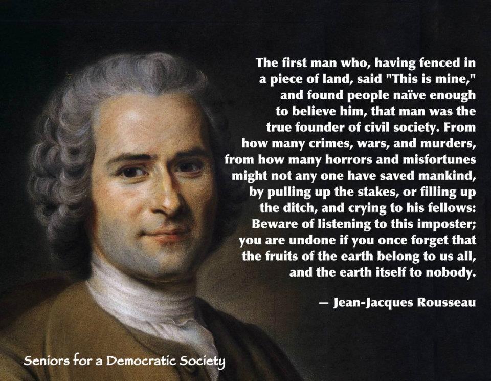 Resultado de imagen de jean jacques rousseau quotes