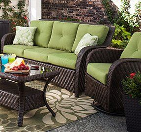 patio furniture & outdoor living