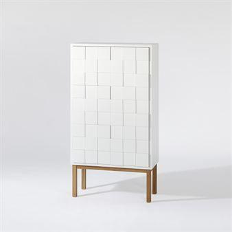 Collect cabinet 2010 white oak - white - A2