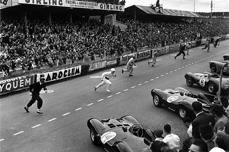 Ferrari clinches its second Le Mans 24 Hours win with Jose Froilan Gonzalez and Maurice Trintignant 1954