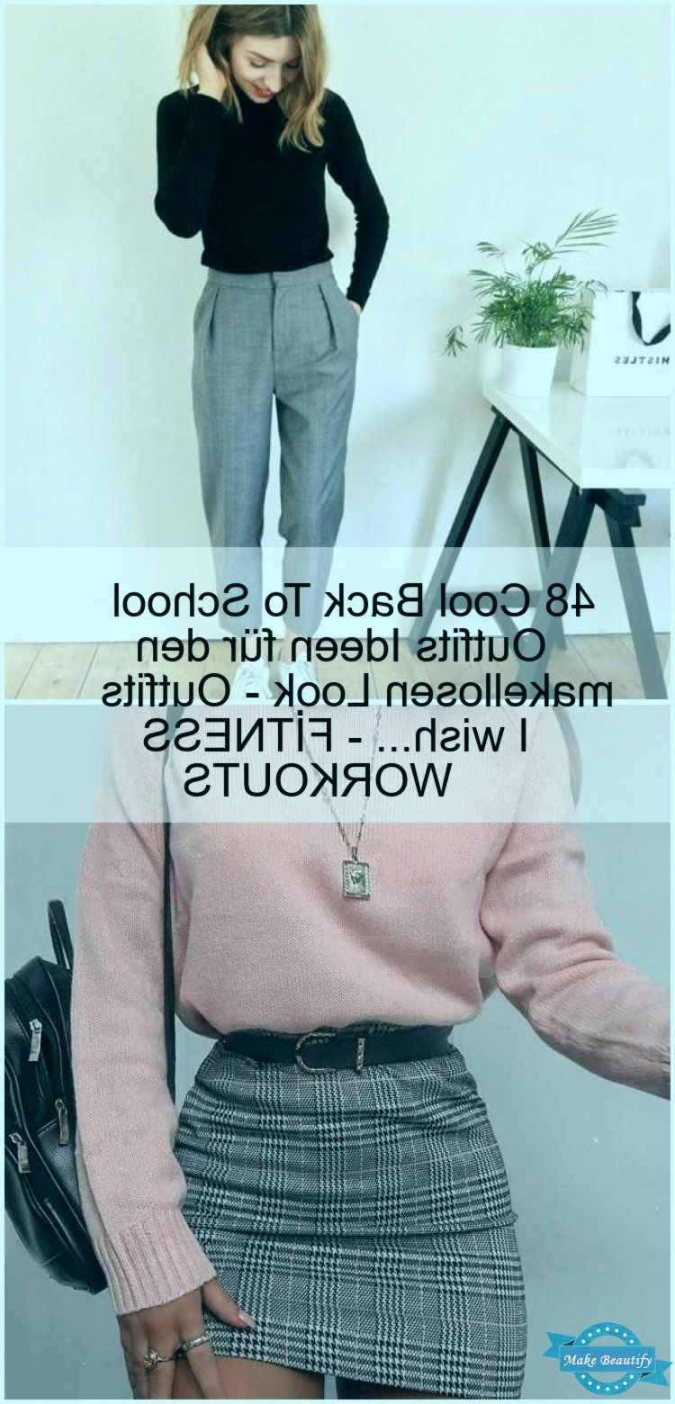 48 Cool Back To School Outfits Ideen für den makellosen Look - Outfits I wish... - FİTNESS WORKOUTS,...