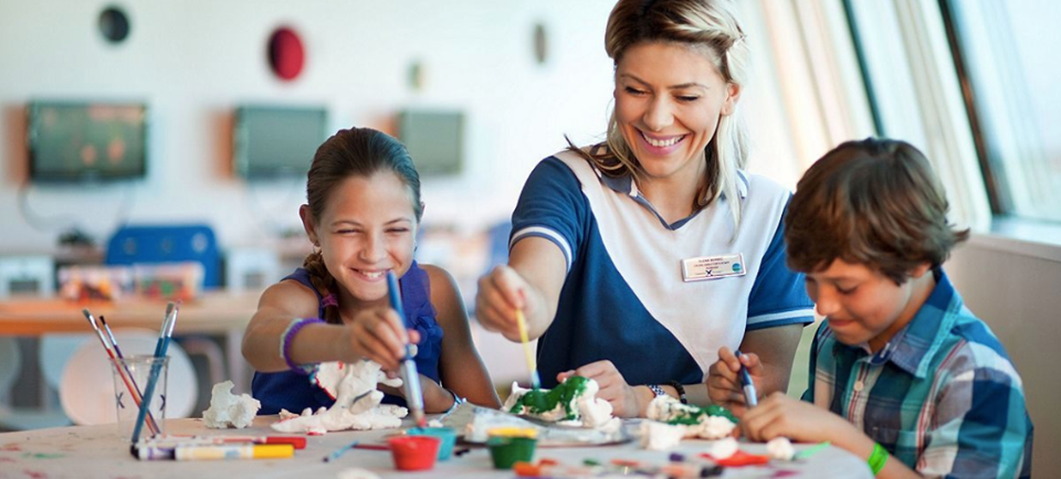 Services onboard Celebrity Cruises From babysitting to kids