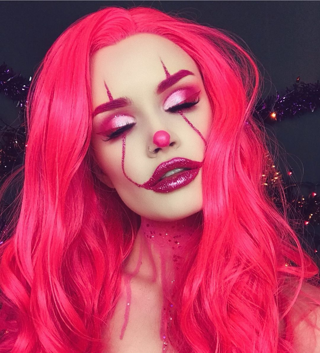 """POWDER ROOM D WIG STORE on Instagram """"Pennywise in pink"""