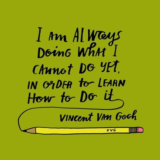 Growth Mindset Quotes On Being Wrong: Growth Mindset Quote From Vincent Van Gogh