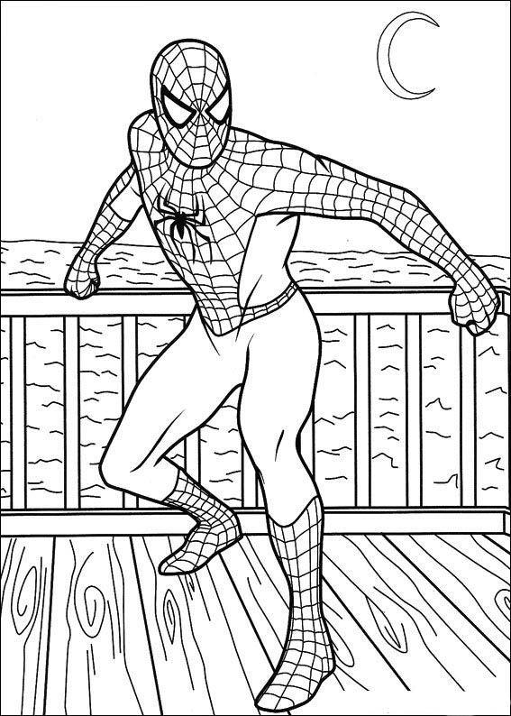 Superman Ausmalbilder Ausmalbilder Fr Kinder Superhelden: Spiderman Ausmalbilder 54