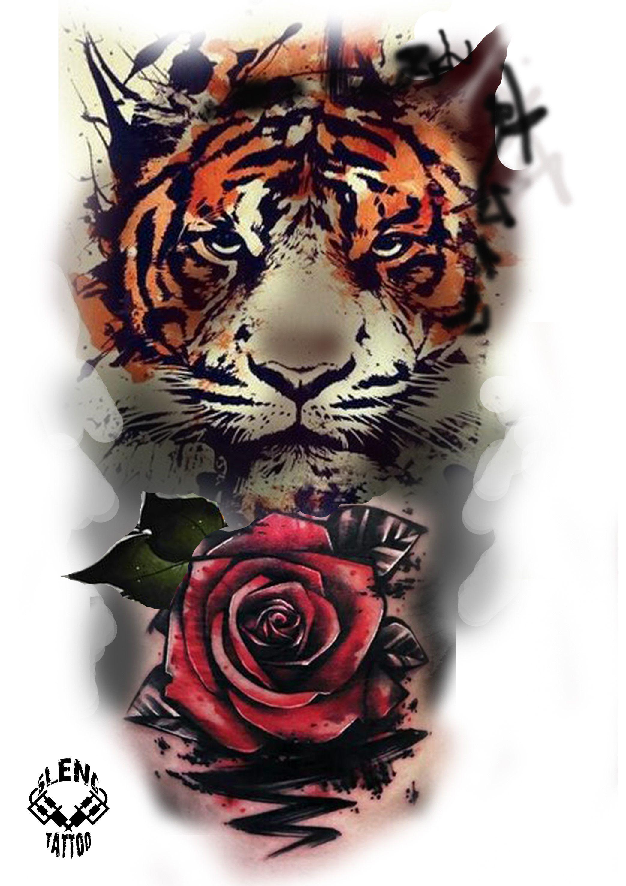 этого картинки тигры с розами пригодится удачная выкройка