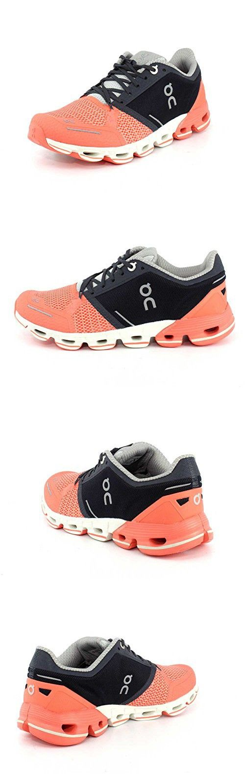 c7c05167a009bc On Running Womens Cloudflyer Salmon Ink Running Shoe - 7