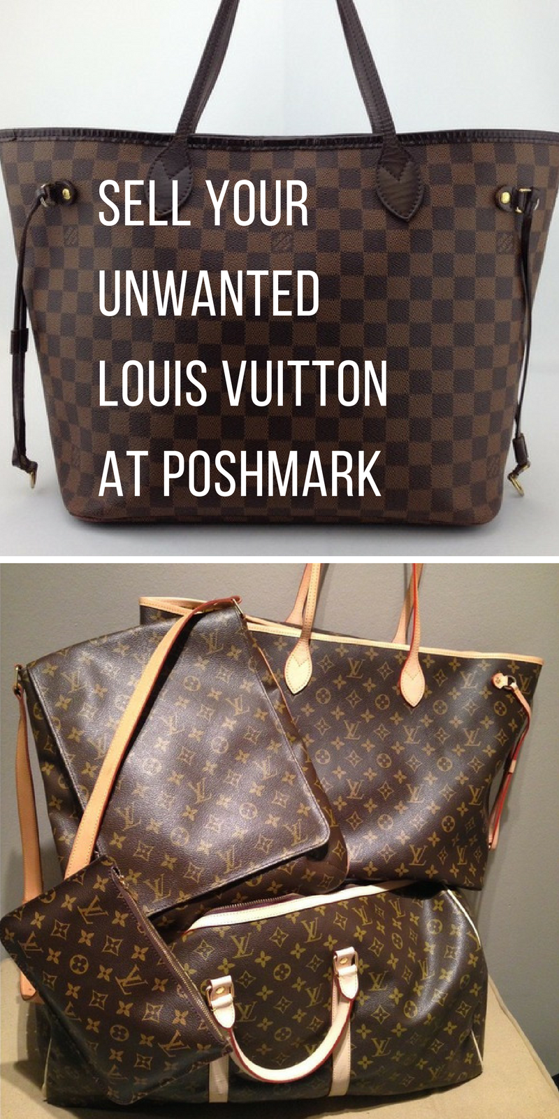Install Poshmark now and Sell your pre-owned Luxury brands all from your phone. Be the owner of what price you want to list your item. Install the free app now.