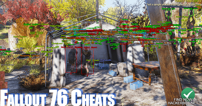 Fallout 76 Hacks, Aimbots, Wallhacks, Mods and Cheats for PC PS4 and
