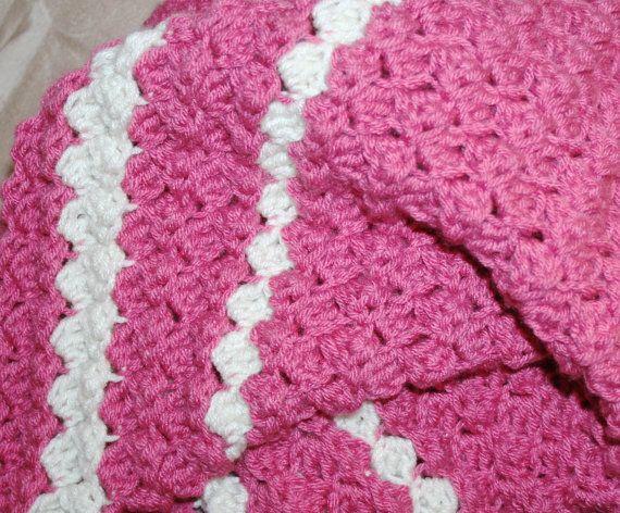 Easy Blanket Pattern Afghan Throw Blanket Puffy Textured