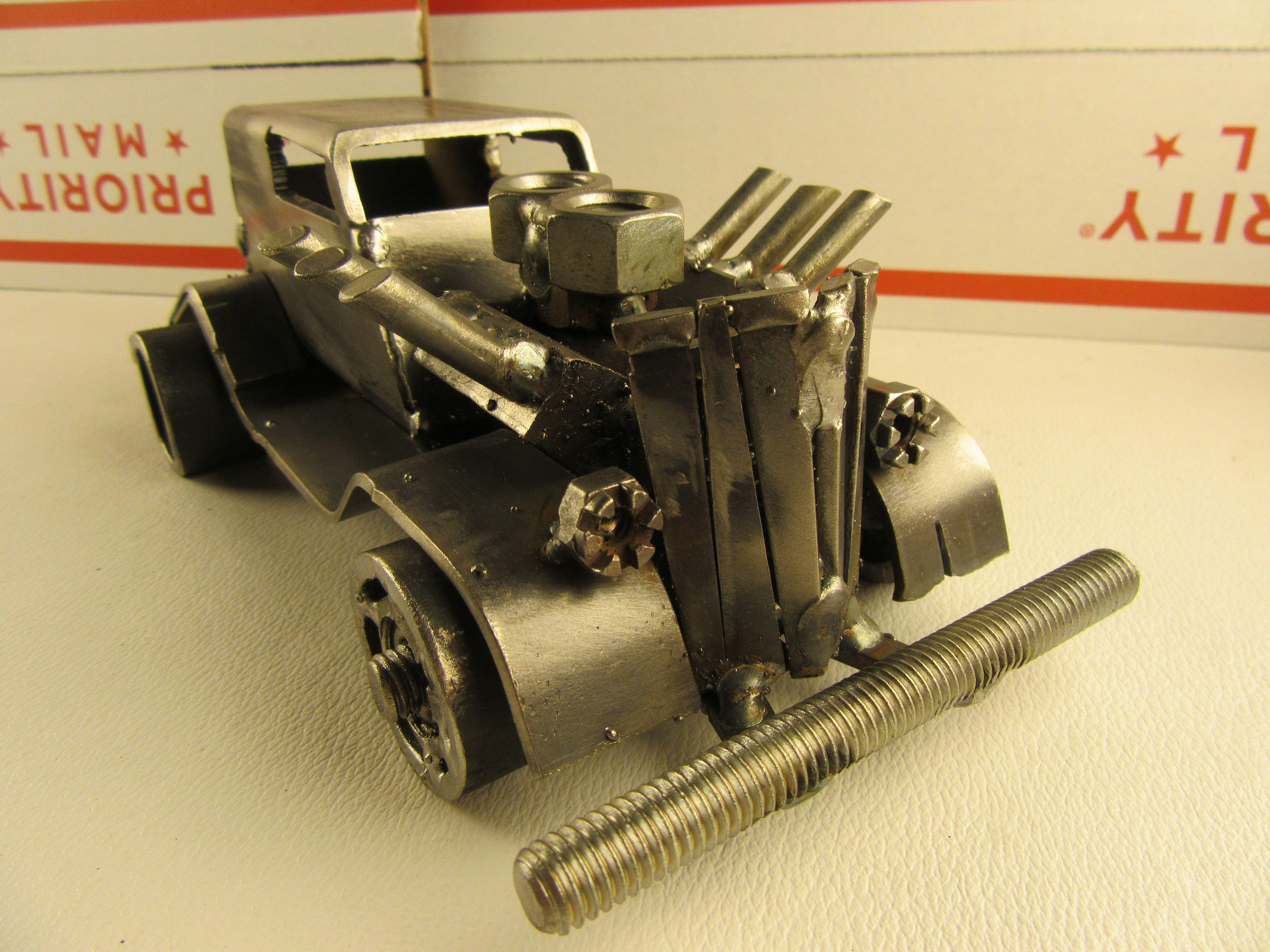 89 best Scrap Metal Art Hot Rods, Rat Rods, Trucks images on ...