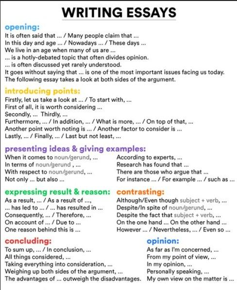 Illustration essay definition