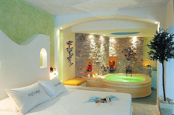 Astarte Suites Honeymoon Destination In Santorini Greece Mediterranean Bedroom Santorini Suites