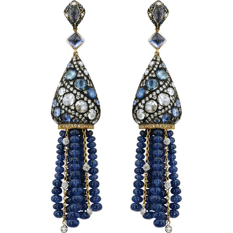 Topkapi Earrings | Gilan - High Jewellery, Istanbul