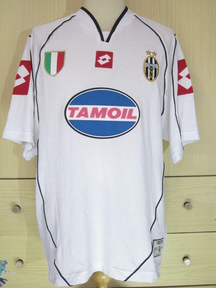 Edgar Davids Juventus Italy Champions League 2002 Away Player Jersey Lotto  Shirt | eBay