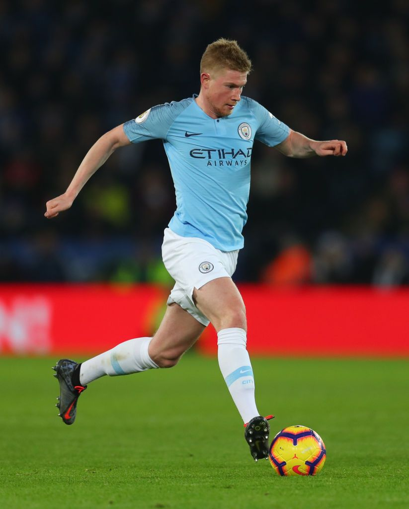 Kevin De Bruyne Of Manchester City During The Premier League Match Manchester City Kevin De Bruyne Premier League Matches