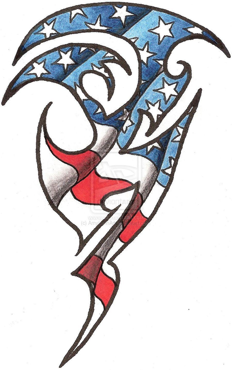 American Tribal Flag Tattoos Modification Tattoos 2011 2013 Amylynnart Tribal Flag Tattoo I American Flag Tattoo Flag Tattoo American Flag Sleeve Tattoo