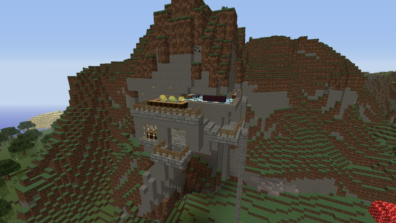 Mountain Home Sweet Home Follow Xgoldrobin For More Minecraft