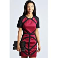 Budgetdeals .org.uk have on offer in our International Boohoo clothing shop the boohoo Jessica Contrast Panell Bodycon Dress  berry at our price of £ 15.00.  Contrast panel bodycon dress Keep an eye on contrast panel party dresses for a killer, contoured figure. Wear it with pin-perfecting pointed court heels , update with an art deco clutch and chandelier earrings . Figure flattering contrast panels Round neckline Exposed zip fastening to reverse Figure hugging bodycon fit.  BUY NOW GBP ...