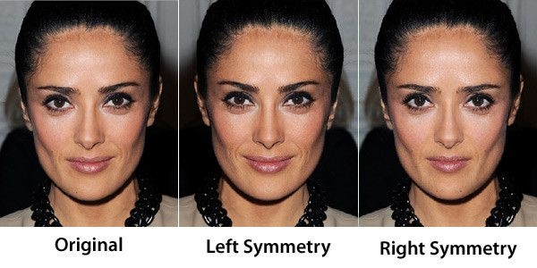 Face Symmetry Of Celebrities Face Symmetry Oval Face Shapes Beauty Rules