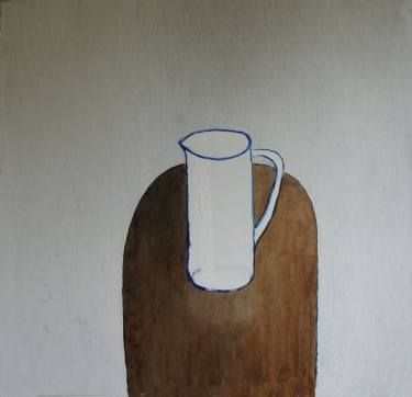 Buy Vase A Oil On Canvas By Barbara Levittoux Widerska From Poland