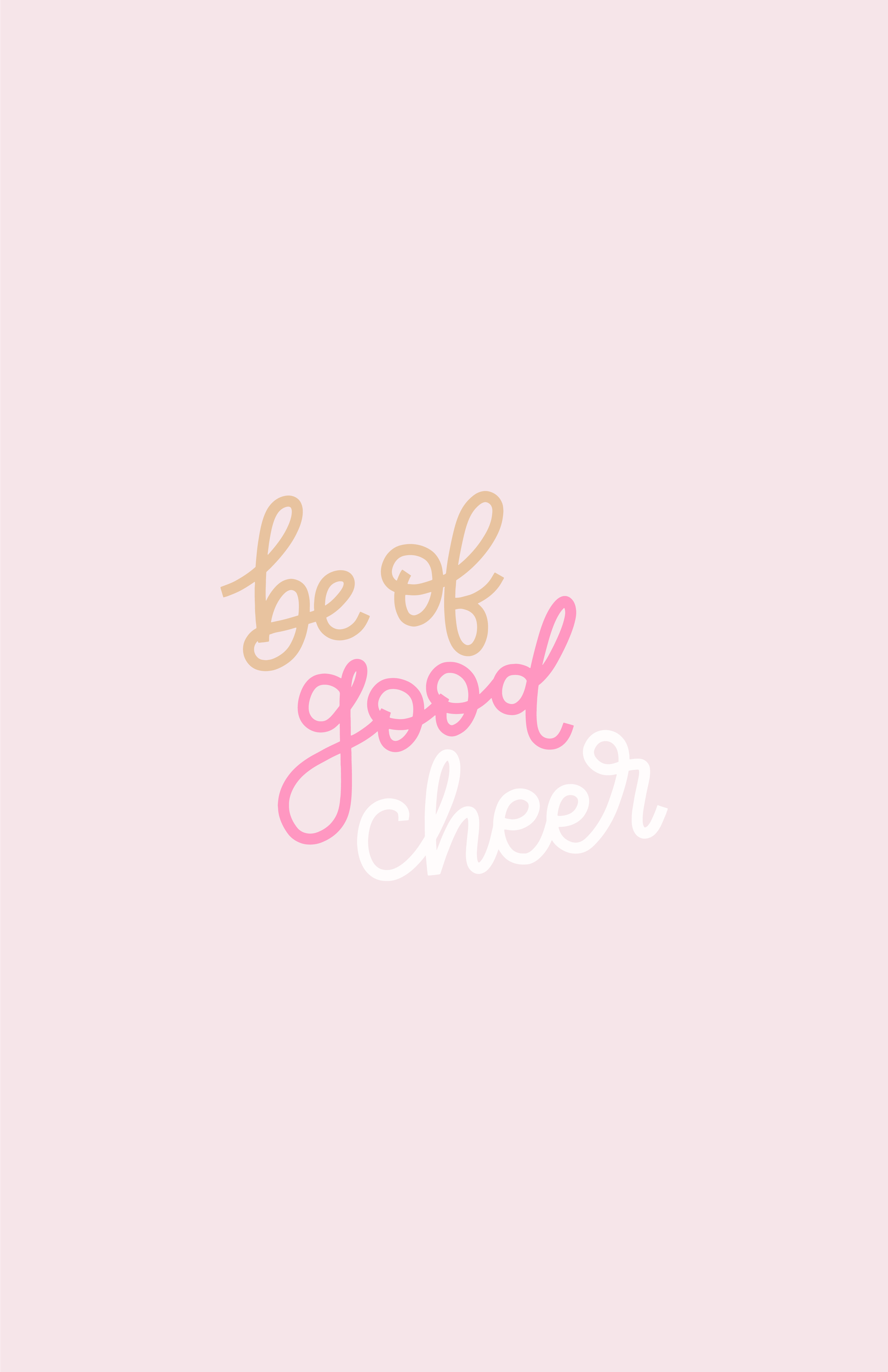 Prints By Rachael Be Of Good Cheer Free Art Free Wallpaper Good Cheer