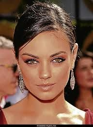 image result for prom makeup for red and black dress