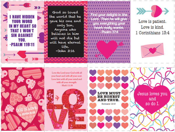 download these free printable bible verse valentines for kids perfect for childrens church and - Valentine Sunday School Lesson