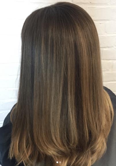 Soft Subtle Balayage Hair By Salon By Milk Honey Stylist Leah Balayage Haircolor Highlights Brunette Milkhoneyhair Honey Hair Hair Best Hair Salon