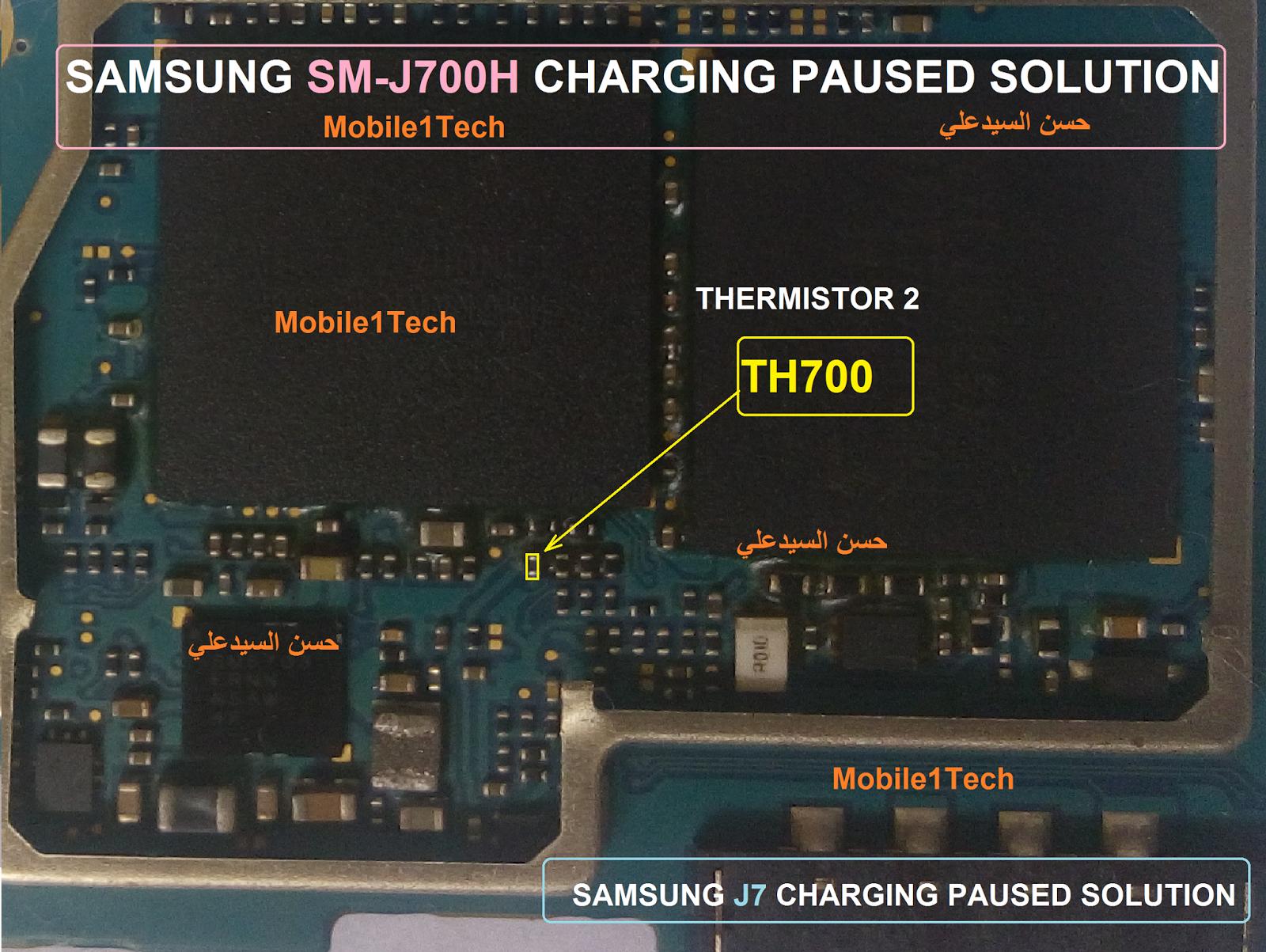 Samsung Galaxy J7 Charging Paused Solution Jumpers | Iphone repair