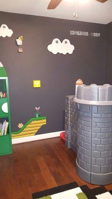 Super Mario Bros nursery - castle