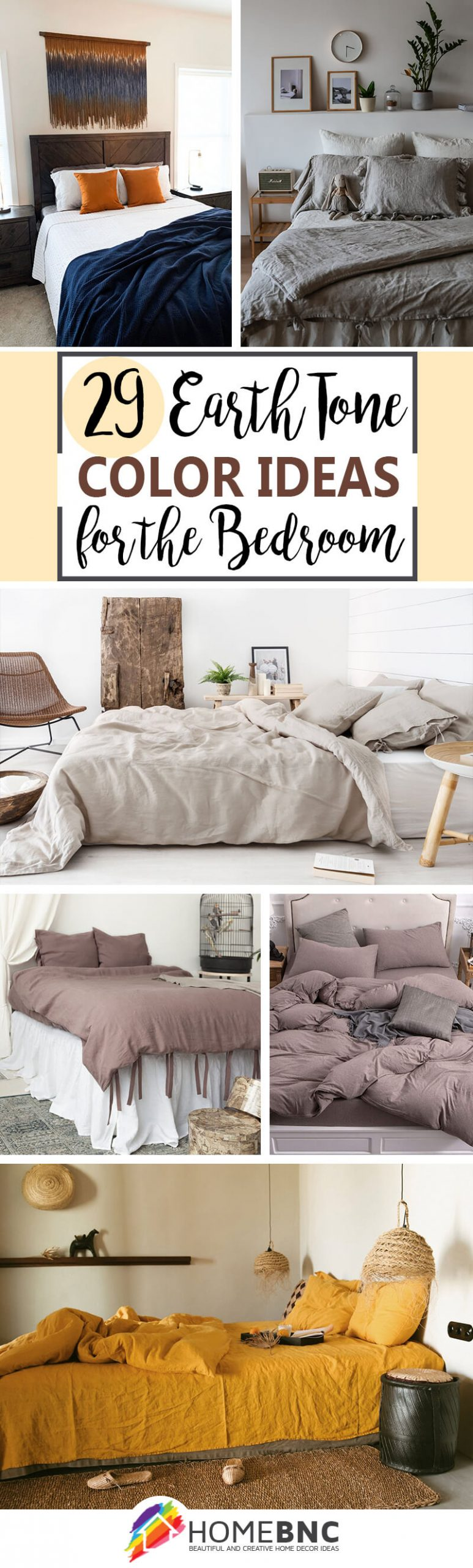 29 Inviting Earth Tone Color Ideas For Your Bedroom In 2021 Earth Tone Colors Earth Tone Bedroom Bedroom Colors