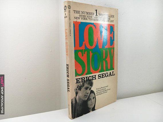 Love Story By Erich Segal Movie Tie In Paperback Vintage Movie