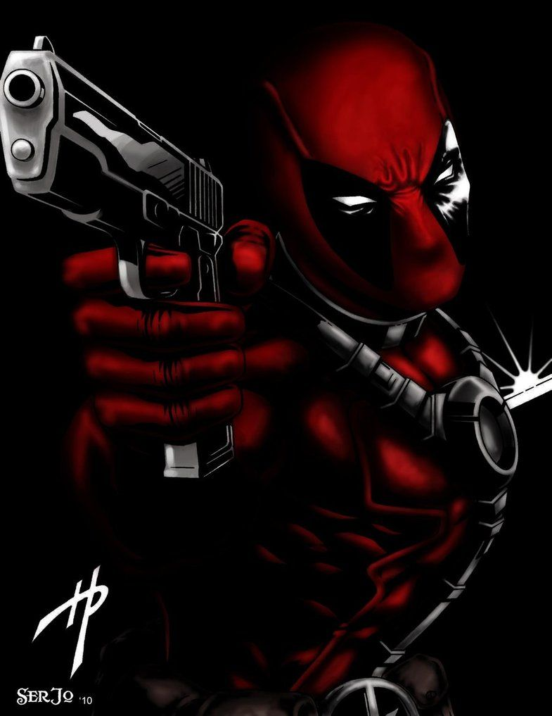 #Deadpool #Fan #Art. (DeadPool) By: SerJ-o. (THE * 5 * STÅR * ÅWARD * OF: * AW YEAH, IT'S MAJOR ÅWESOMENESS!!!™) [THANK U 4 PINNING!!!<·><]<©>ÅÅÅ+(OB4E)                            https://s-media-cache-ak0.pinimg.com/474x/aa/38/25/aa3825e07a33eeeeee92b185a8bb2c7a.jpg