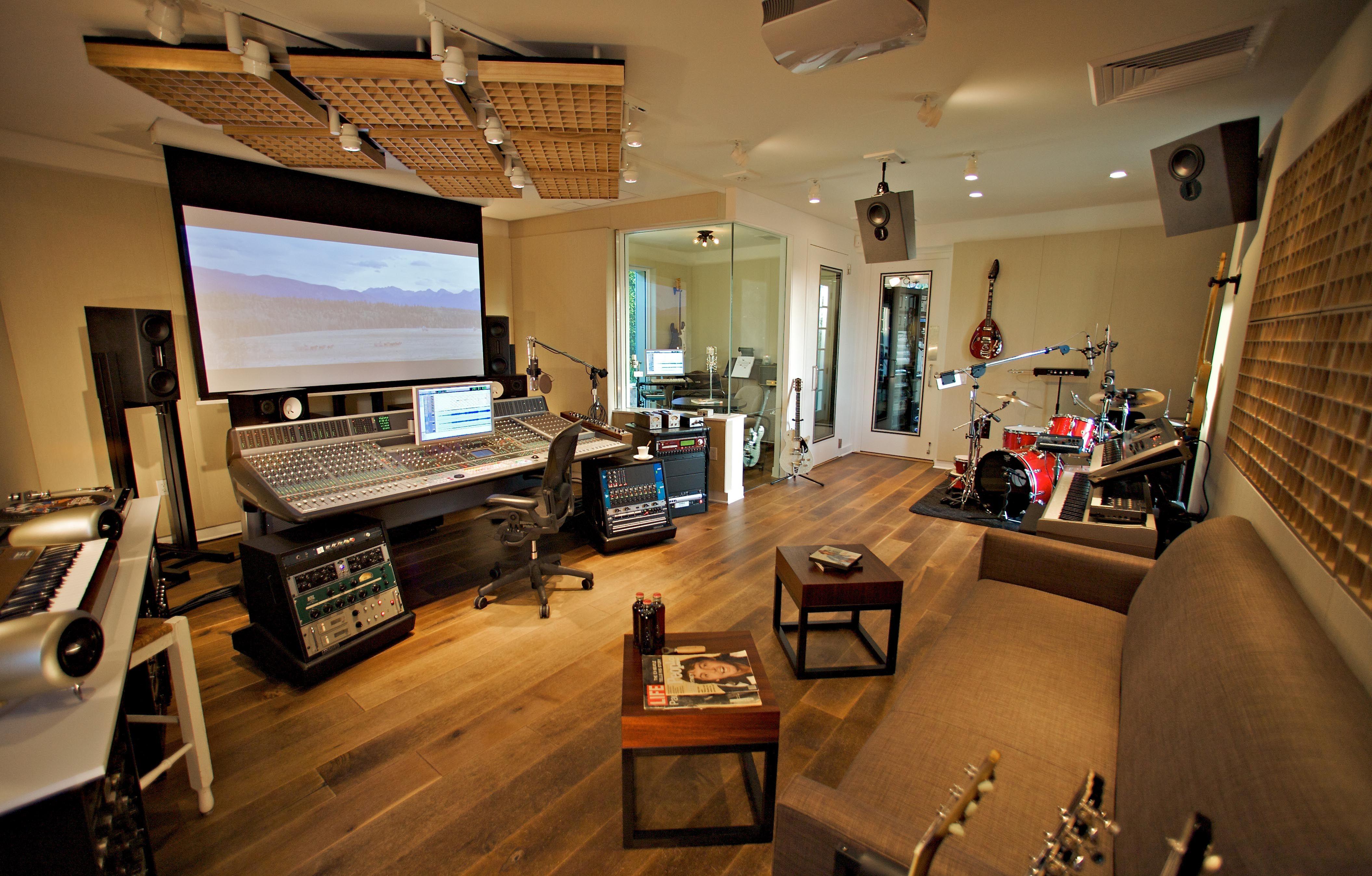 Stanza Studio In Casa radiobu (con immagini) | interni, studio di registrazione