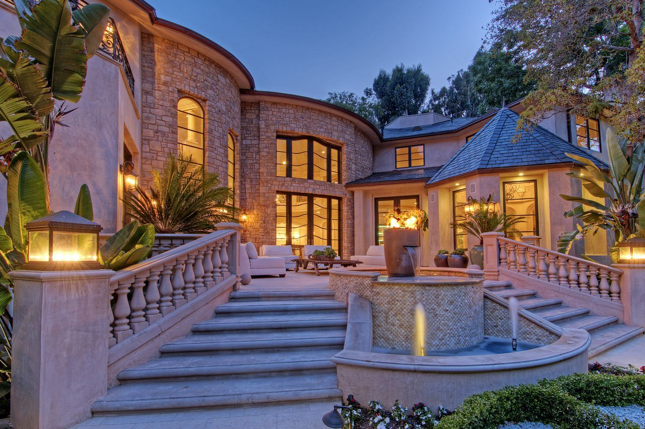This is one of the most exquisite Bel Air mansions created to
