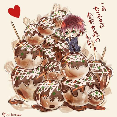 anime   ayato   boy   chibi   cute   diabolik lovers   guy   kawaii   manga   otome   pixiv id 10981246   pixiv member: レオン   takoyaki   vampire