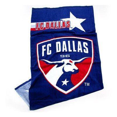Crover FC Dallas Beach Towel
