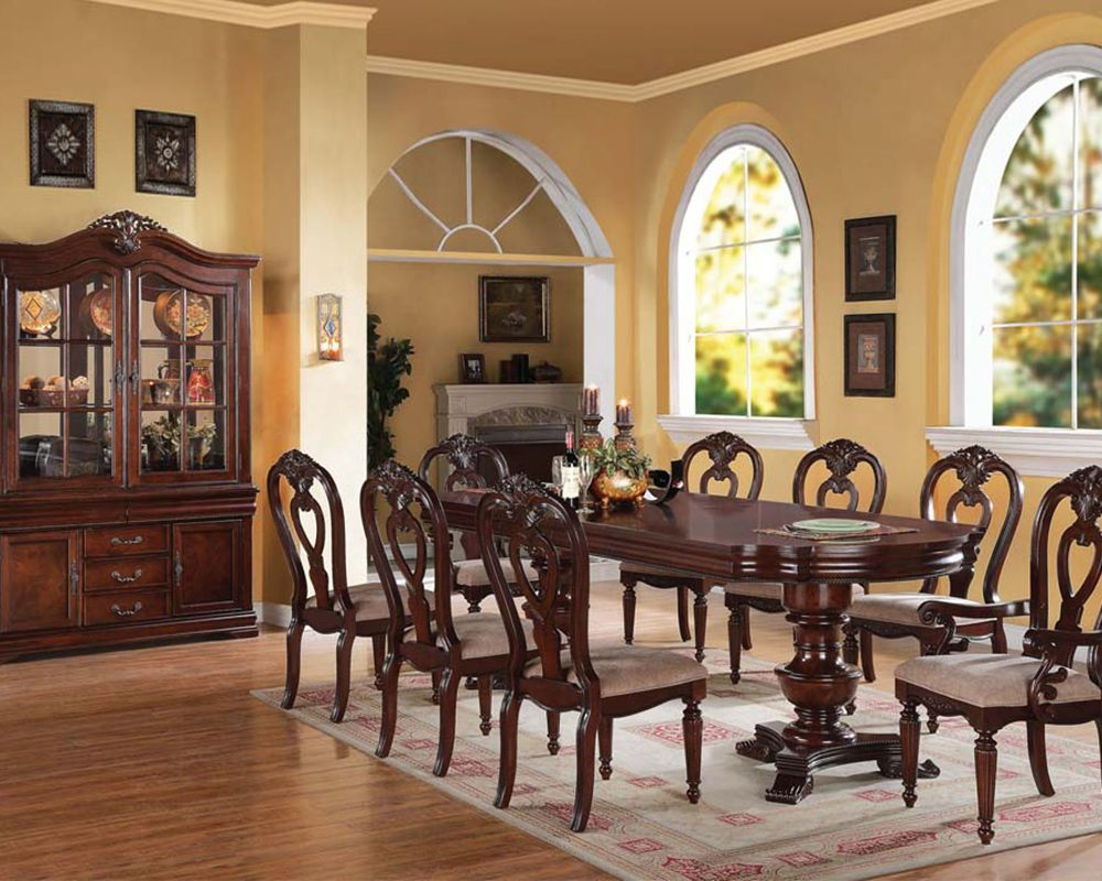 Dining Room Furniture Pottery Barn Sets  Home Design Idea Mesmerizing Traditional Dining Room Set Design Decoration
