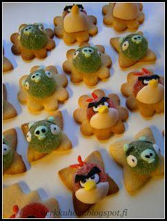 Angry Bird-cookies
