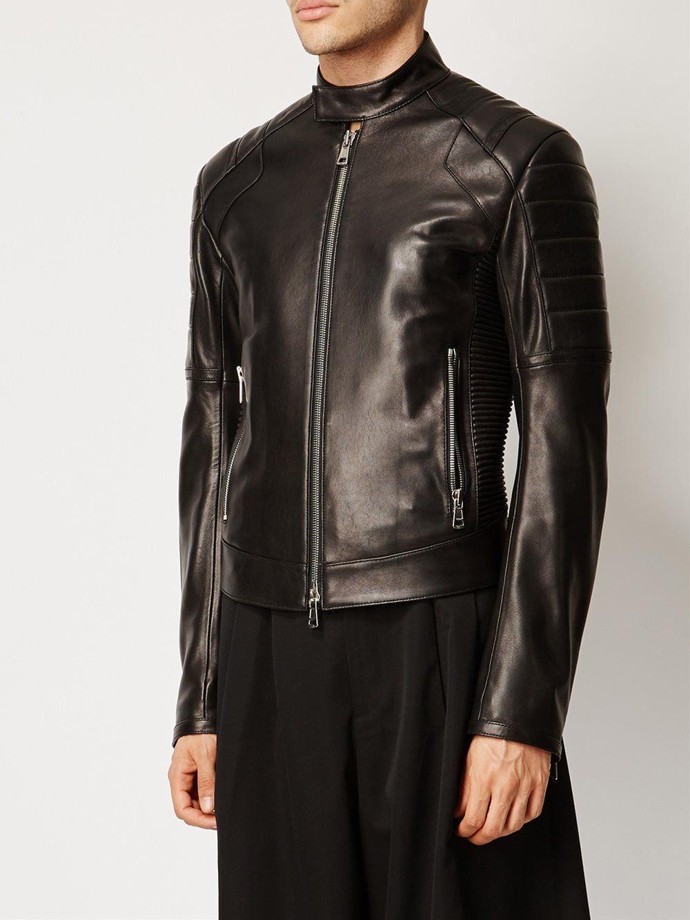 Juun J Quilted Shoulder Jacket Leather Jacket Men Mens Designer Leather Jackets Designer Leather Jackets [ 1334 x 1000 Pixel ]