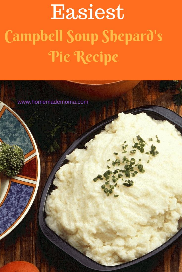 Campbell Soup Shepard's Pie Recipe ⋆ #shepardspie Campbell Soup Shepard's Pie Recipe ⋆ #shepardspie
