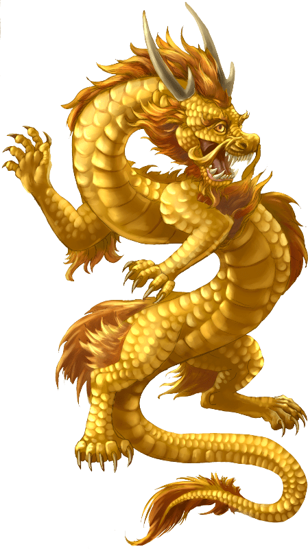 Gold Dragon Chinese dragon tattoos, Chinese dragon