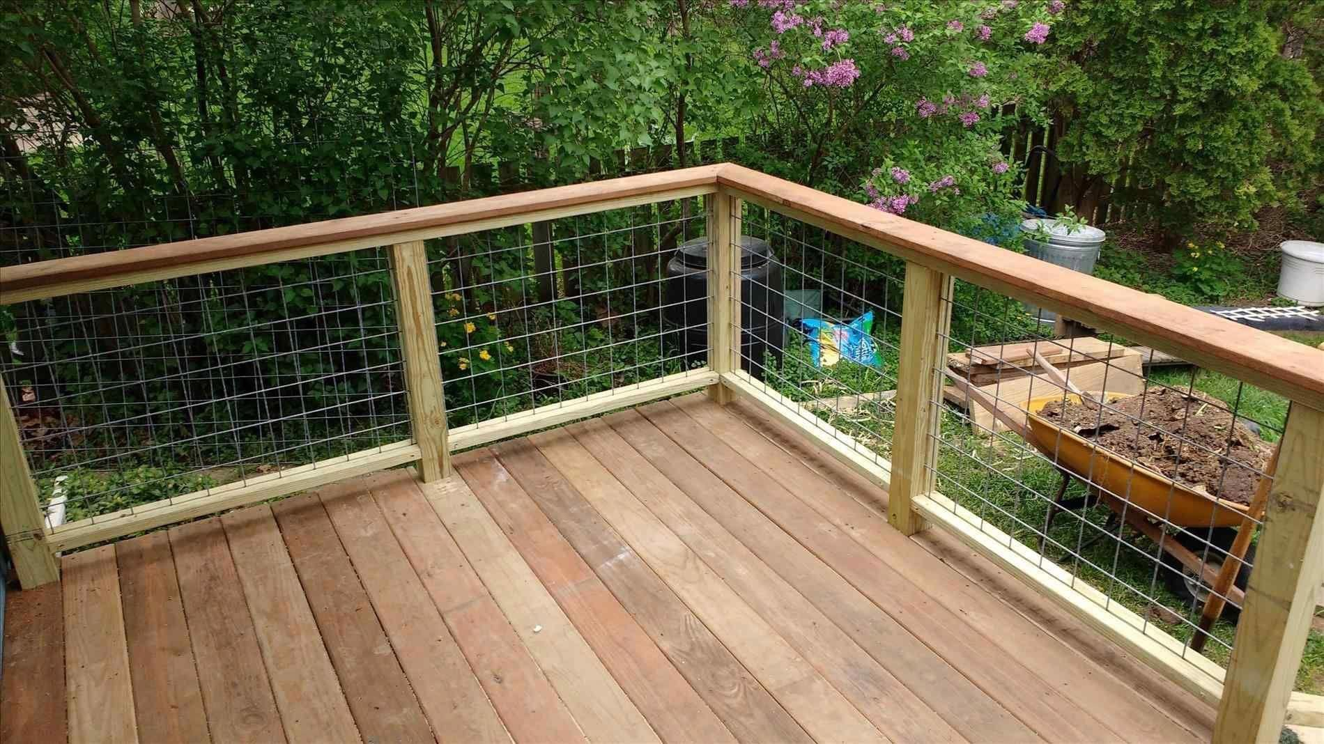 Best Deck Railing Installation Cost Deckcost Outdoor Living Deck 400 x 300
