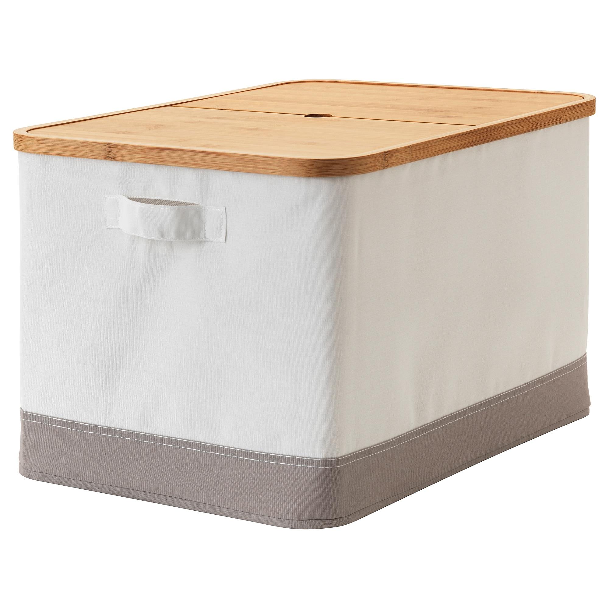 Rabbla Caja Con Tapa 35x50x30 Cm Cajas Almacenaje