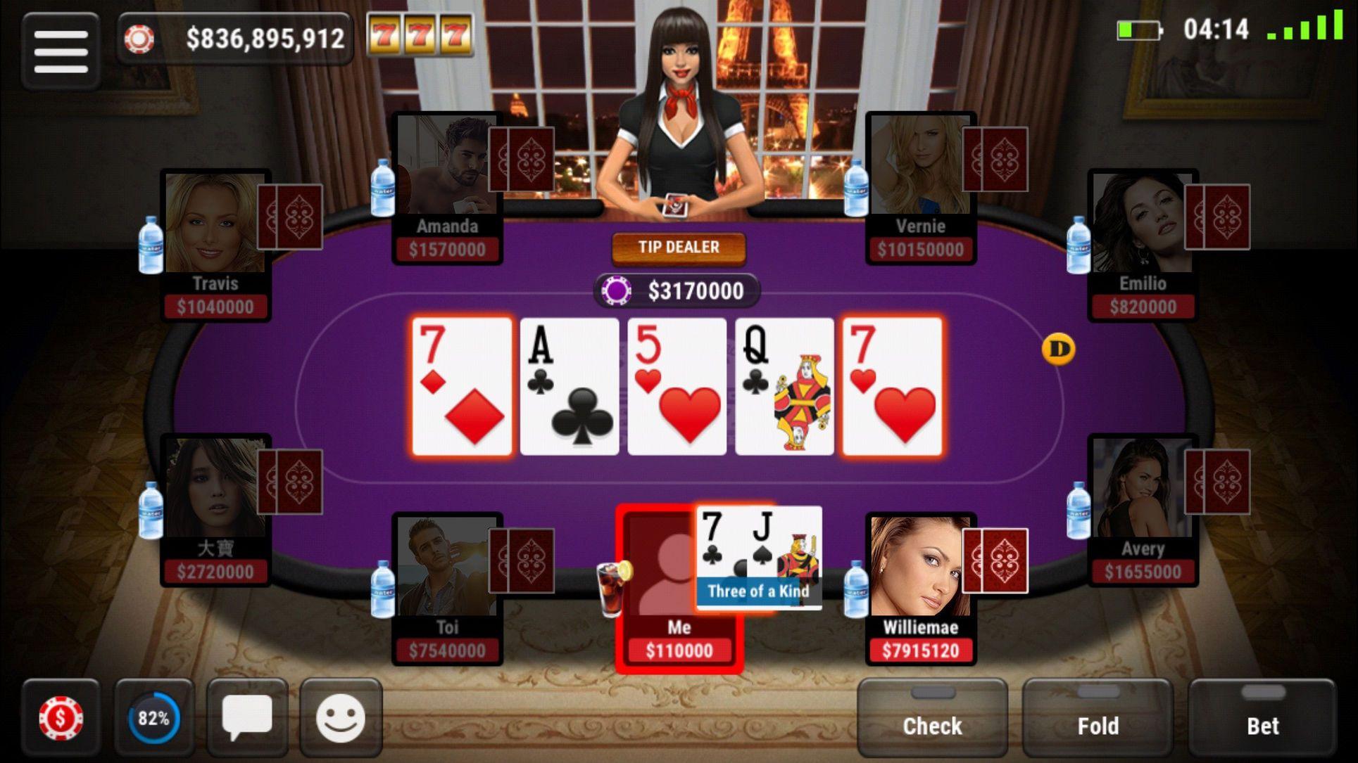 Boqu Texas Hold'em Poker Free Live Vegas Casino Vegas